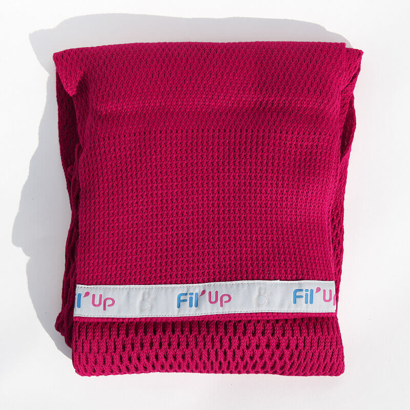 Echarpe de portage - Fil'Up - Rouge