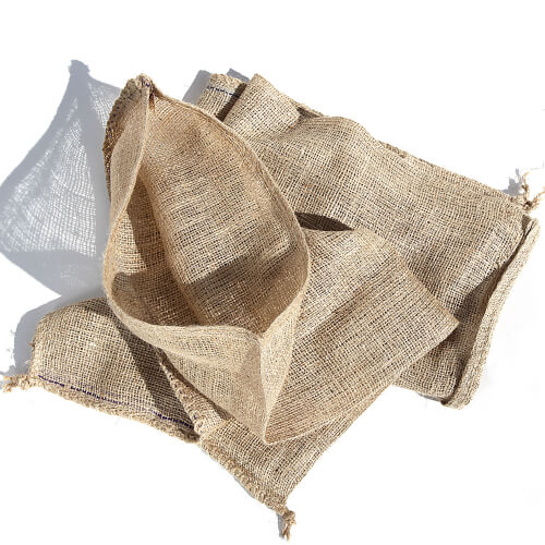 small Hessian bag