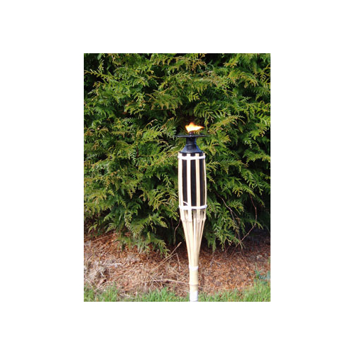 Torch wick for outdoor candles