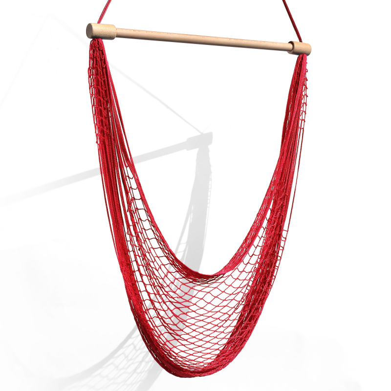 Hamac chaise - Rouge