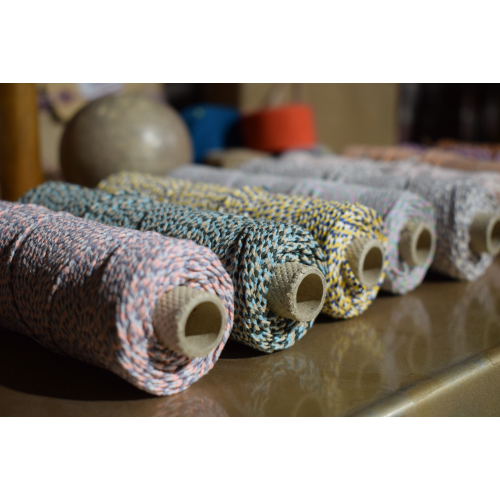 Cordon tréssé coton